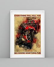 Ducati everything will kill you so poster 11x17 Poster lifestyle-poster-5