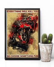 Ducati everything will kill you so poster 11x17 Poster lifestyle-poster-8
