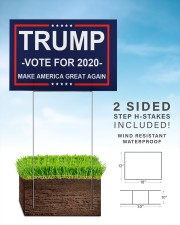 Trump vote for 2020 make america great again 18x12 Yard Sign aos-yard-sign-18x12-lifestyle-front-26