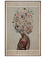 Vinyl Wine Lose Your Mind Find Your Soul Poster 11x17 Poster front