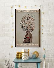 Vinyl Wine Lose Your Mind Find Your Soul Poster 11x17 Poster lifestyle-holiday-poster-3