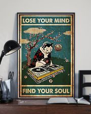 Cat dj lose your mind find your soul poster 11x17 Poster lifestyle-poster-2