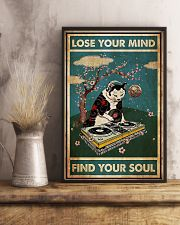 Cat dj lose your mind find your soul poster 11x17 Poster lifestyle-poster-3