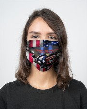 Honor the fallen never forget face mask 2 Layer Face Mask - Single aos-face-mask-2-layers-lifestyle-front-16