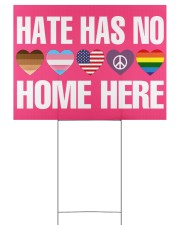 Hate Has No Home Here Yard Signs tile