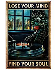Vinyl lose your mind find your soul poster 11x17 Poster front