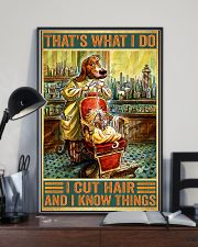 Dog hairdresser i cut hair and i know thing poster 11x17 Poster lifestyle-poster-2