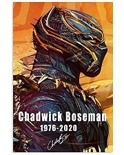 Rip Chadwick Boseman BlackPanther 1976-2020 Poster 11x17 Poster front