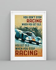 Sport car you don't stop racing when you get old p 11x17 Poster lifestyle-poster-5