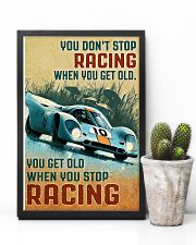 Sport car you don't stop racing when you get old p 11x17 Poster lifestyle-poster-8