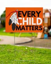 Every Child Matters Yard Sign Orange Shirt Day  18x12 Yard Sign aos-yard-sign-18x12-lifestyle-front-13