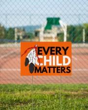 Every Child Matters Yard Sign Orange Shirt Day  18x12 Yard Sign aos-yard-sign-18x12-lifestyle-front-15