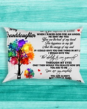 Watercolor Trees To my granddaughter once upon a Rectangular Pillowcase aos-pillow-rectangle-front-lifestyle-5