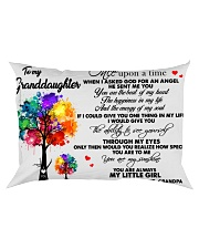 Watercolor Trees To my granddaughter once upon a Rectangular Pillowcase front