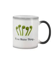 It's a Maine Thing Fiddlehead mug Color Changing Mug thumbnail