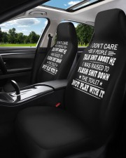 I don't care if people talk shit about me  Car Seat Covers aos-car-seat-cover-set-2-pcs-lifestyle-front-01