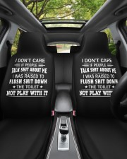 I don't care if people talk shit about me  Car Seat Covers aos-car-seat-cover-set-2-pcs-lifestyle-front-02