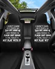 I don't care if people talk shit about me  Car Seat Covers aos-car-seat-cover-set-2-pcs-lifestyle-front-02b