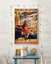 Some girls are just born with travelling 11x17 Poster lifestyle-holiday-poster-3