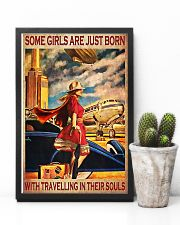 Some girls are just born with travelling 11x17 Poster lifestyle-poster-8