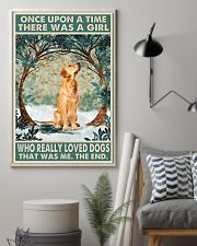 Golden retriever There was a girl who really loved 11x17 Poster lifestyle-poster-1
