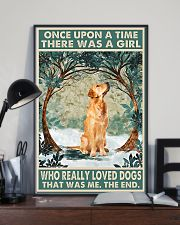 Golden retriever There was a girl who really loved 11x17 Poster lifestyle-poster-2
