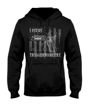 I Study Triggernometry Hooded Sweatshirt thumbnail
