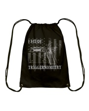 I Study Triggernometry Drawstring Bag thumbnail
