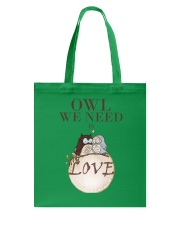 Owl We Need Is Love Tote Bag thumbnail