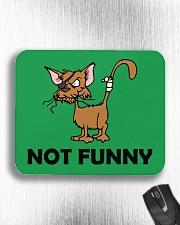 NOT fUNNY Mousepad aos-mousepad-front-lifestyle-4