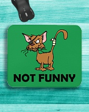 NOT fUNNY Mousepad aos-mousepad-front-lifestyle-5