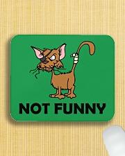 NOT fUNNY Mousepad aos-mousepad-front-lifestyle-6