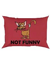 NOT fUNNY Rectangular Pillowcase thumbnail