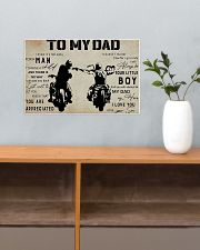 To my dad 17x11 Poster poster-landscape-17x11-lifestyle-24