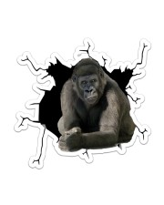 Gorilla Sticker - Single (Vertical) front