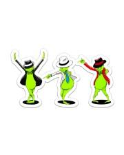 three grinch Sticker - Single (Vertical) front