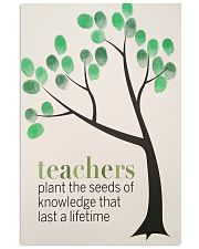 TEACHER TEACHCER TEACHER TEACHCER TEACHER TEACHCER 11x17 Poster front