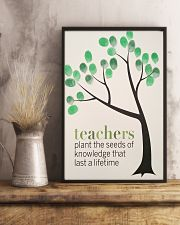 TEACHER TEACHCER TEACHER TEACHCER TEACHER TEACHCER 11x17 Poster lifestyle-poster-3