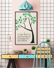 TEACHER TEACHCER TEACHER TEACHCER TEACHER TEACHCER 11x17 Poster lifestyle-poster-6