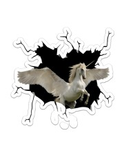 Unicorn Sticker - Single (Vertical) front