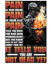 PAIN IS YOUR PAIN IS YOUR ALLY PAIN 11x17 Poster front