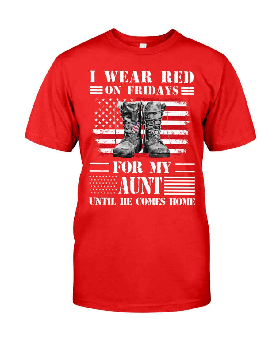 77veteran red aunt Classic T-Shirt