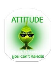 attitude-grinch Sticker - Single (Vertical) front