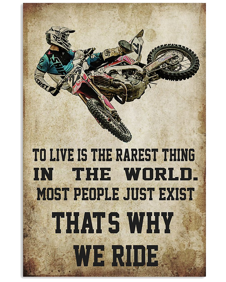 MOTOCROSS MOTOCROSS MOTOCROSS DIRT BIKE DIRT BIKE  11x17 Poster