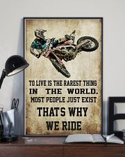 MOTOCROSS MOTOCROSS MOTOCROSS DIRT BIKE DIRT BIKE  11x17 Poster lifestyle-poster-2
