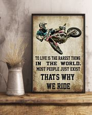 MOTOCROSS MOTOCROSS MOTOCROSS DIRT BIKE DIRT BIKE  11x17 Poster lifestyle-poster-3