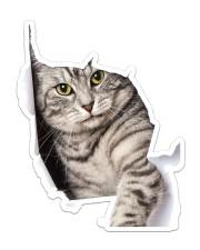 cat Sticker - Single (Vertical) front