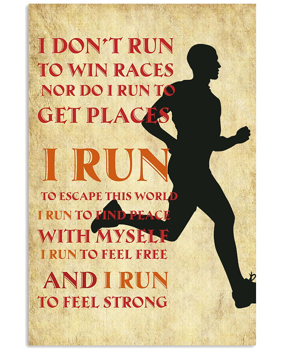 RUNNING RUNNING RUNNING RUNNING RUNNING RUNNING  11x17 Poster