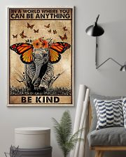 IN A WORLD WHERE YOU CAN BE ANYTHING BE FIND 11x17 Poster lifestyle-poster-1