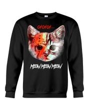 Meow Meow Meow Crewneck Sweatshirt thumbnail